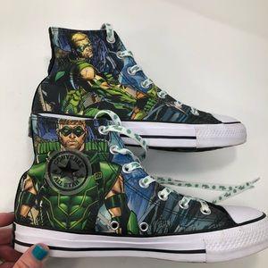 Converse X DC Comics Green Lantern Chuck Hi Tops